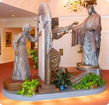 """Come Unto Me"" Sculpture"