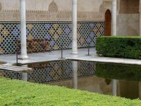 REFLECTION POOL, ALHAMBRA, GRANADA, SPAIN