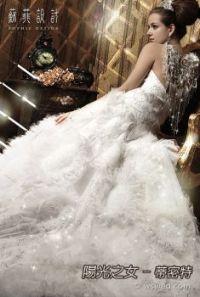 jeweled wedding gown