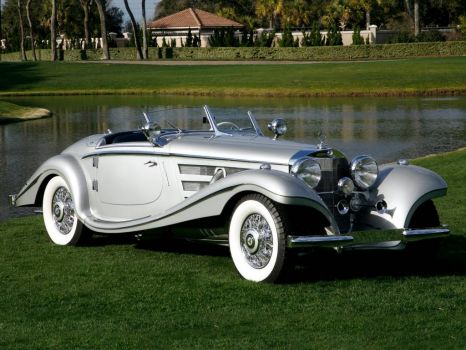 1937 - Mercedes Benz 500k special roadster
