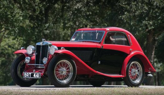 1935 - MG Magnette coupe