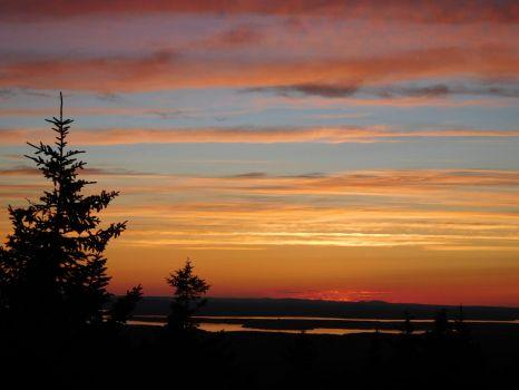 Sunset at Acadia