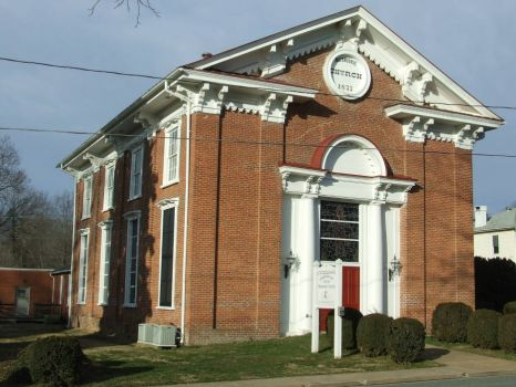 Gordonsville Va. Church Dated 1873