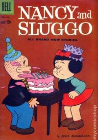 Nancy And Sluggo: The Birthday Cake