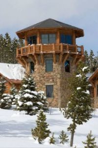 Rocky Mountain Stone/Log Home