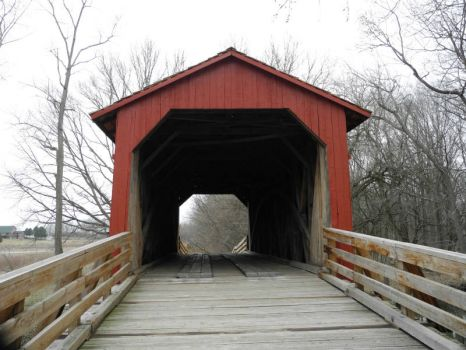 Sugar creek covered bridge 1