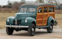 1940 Ford Marmon Herrington Standard Station Wagon