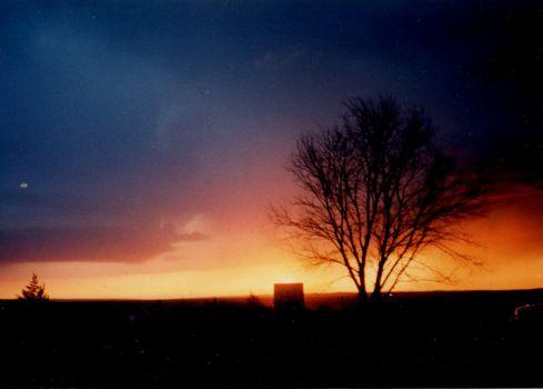 36 Sunset Western Nebraska July 4