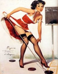 classic pinup girl 17