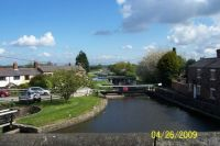 Looking down Rufford Branch from Juuction Bridge, Leeds & Liverpool Canal