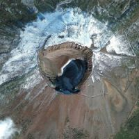 As Seen From Space: Naples Italy – Mount Vesuvius