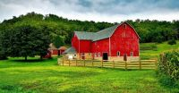 Old Red Barn in Wisconsin...
