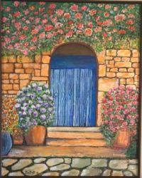 Tuscany Door by Lee Buffamenti