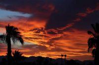 Sunset tonight in Las Vegas, NV