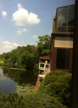 View from Old Mill Inn Outside Porch 7-18-13