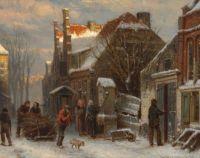 Winter in Harderwijk