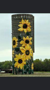 Flowered Farm Art