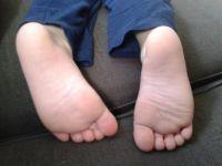 my grandson 's lovely feet