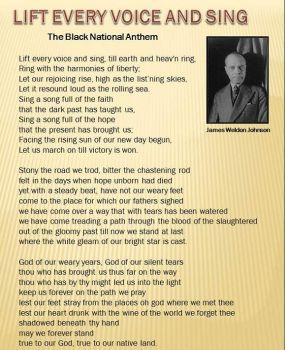 Lift Every Voice and Sing - The Black National Anthem