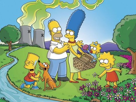 simpsons picnic
