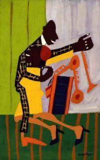 William H. Johnson - Jitterbugs (II) - 1941