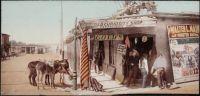 Gold's Curio Store, Santa Fe, New Mexico, circa 1897.