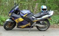 Suzuki RF900RT at rest