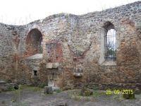 St Procopius church ruin in Teplice CZ