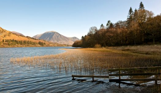 Loweswater, looking across to Grasmoor.