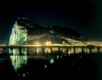 Gibraltar Night lights