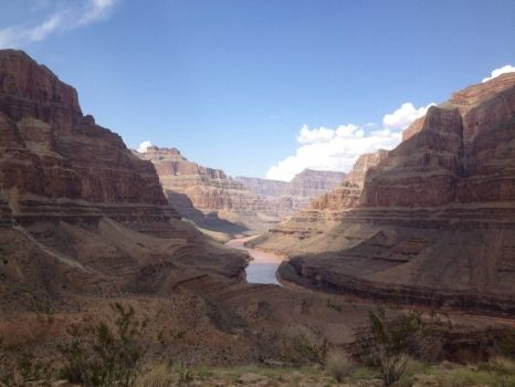The Grand Canyon - photog unknown