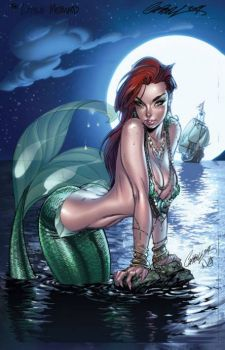 j scott campbell - little mermaid
