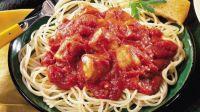 Spaghetti with Sausage Sauce