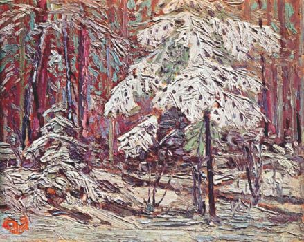 Tom Thomson, Snow in the Woods-1916