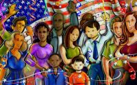 Theme: July 4 - Independence is For All Americans - Celebrate
