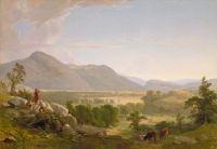 "Asher Brown Durand, ""Dover Plain, Dutchess County, New York"""
