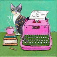 Typing Cat