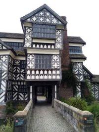 Entrance to Little Moreton Hall