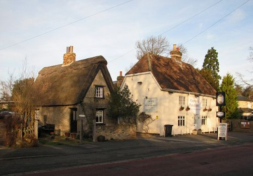 The Crown and Punchbowl, Horningsea, Cambridgeshire.  Photo by John Sutton