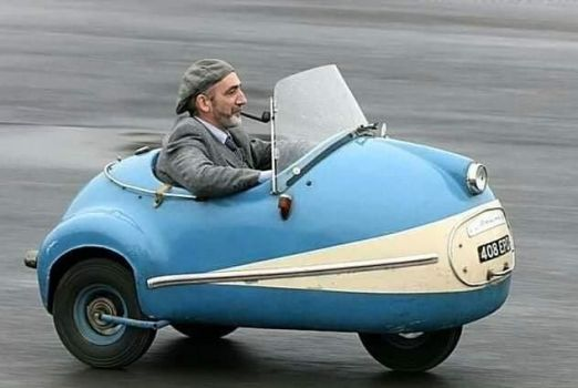 3 Wheel 50cc Mopetta