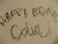 HAPPY BIRTHDAY, COLIN!