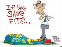 Obama if the shoes fits..