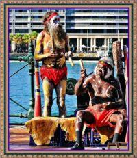 Australia's Music Men at Circular Quay.