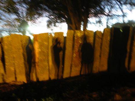 A farm´s stone wall. MG Brazil