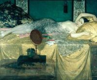 William Russell Flint  silver and gold