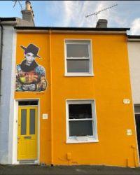 Art on a House