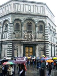 The Baptistery at the Duomo, Florence