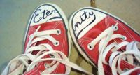 Eternity is written on my shoes