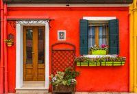A Facade in Burano