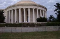 Jefferson Memorial...thought this was a bride, but...